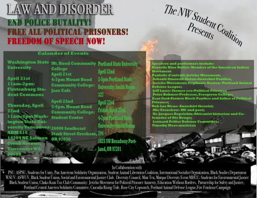 law and disorder conference, psu, april 21-22