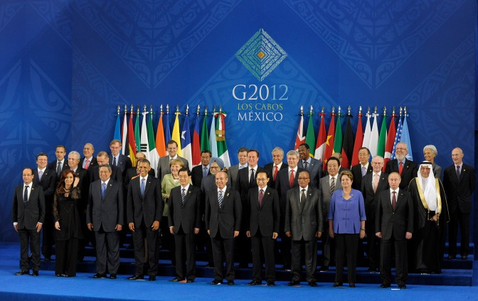 g20 summit includes representative from EU, and possibly drug cartel