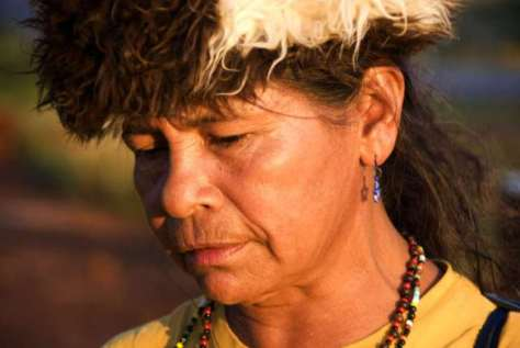 - Damiana Cavanha, a Guarani woman from Brazil who recently spearheaded a courageous take-over of the Guarani's ancestral lands;