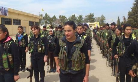 Kurdish Women's militia (YPG) is inspiring women across the world!
