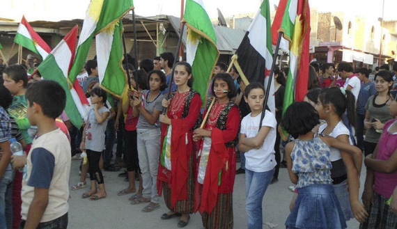 Stateless Democracy #2: The Revolution in Rojava Kurdistan, more on anarchist guerilla feminists