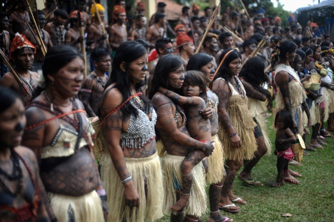 indigenous amazonian people fight for their lands as belo monte construction continues (video)