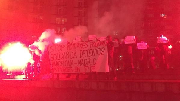 STATE OF EMERGENCY IN SPAIN: spanish authorities begin crackdown on anarchist social centers, protests erupt nationwide
