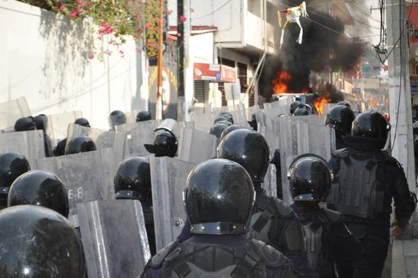 more riots against the narcostate in guerrero, mexico – another example of the US drug wars