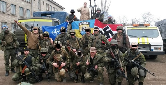 europe's latest failed state, ukraine;  sexpots, jihadis, warlords, and nazis!