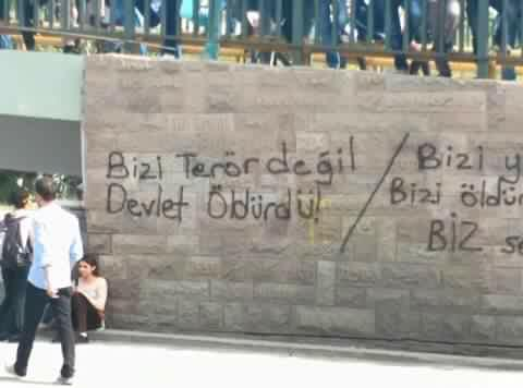 Statement from Revolutionary Anarchist Action (DAF) on bombing in Ankara; also – police block ambulances, clash with survivors