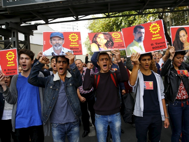 Turkey set for general strike, school boycott after Ankara Massacre