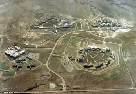 prison complexes in florence, colorado - mostly built during the clinton administration.