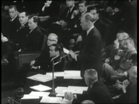 congressman gerald ford was called on twice to bail out the military/industrial complex - once to whitewash and cover up their assassination of president kennedy, later to replace nixon when he was forced to resign in disgrace.