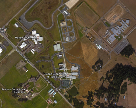 prison and jail complexes in salem, oregon. i've done time in two of these facilities, as well as oregon state penetentiary and mill creek - not pictured.